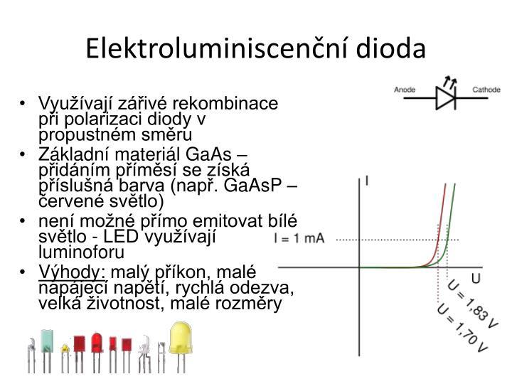 Elektroluminiscenční dioda