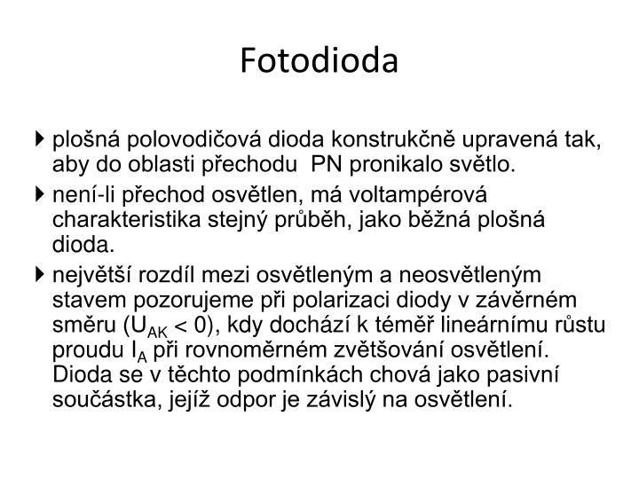 Fotodioda