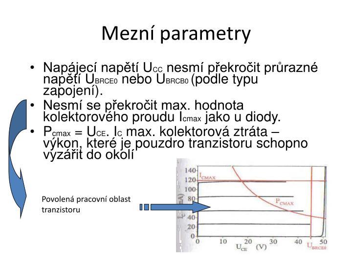Mezní parametry
