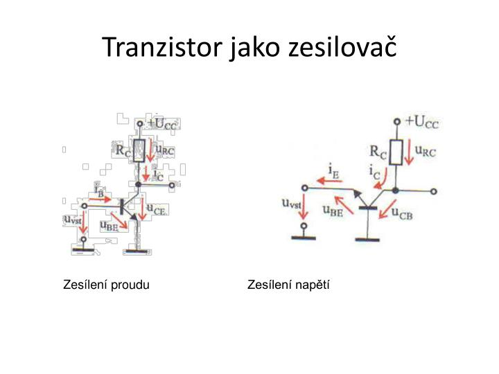Tranzistor jako zesilovač