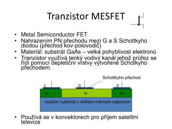 Tranzistor MESFET