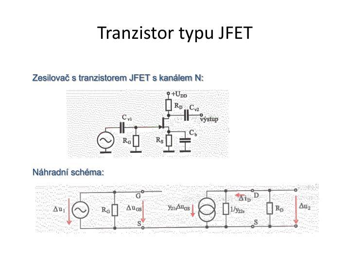 Tranzistor typu JFET