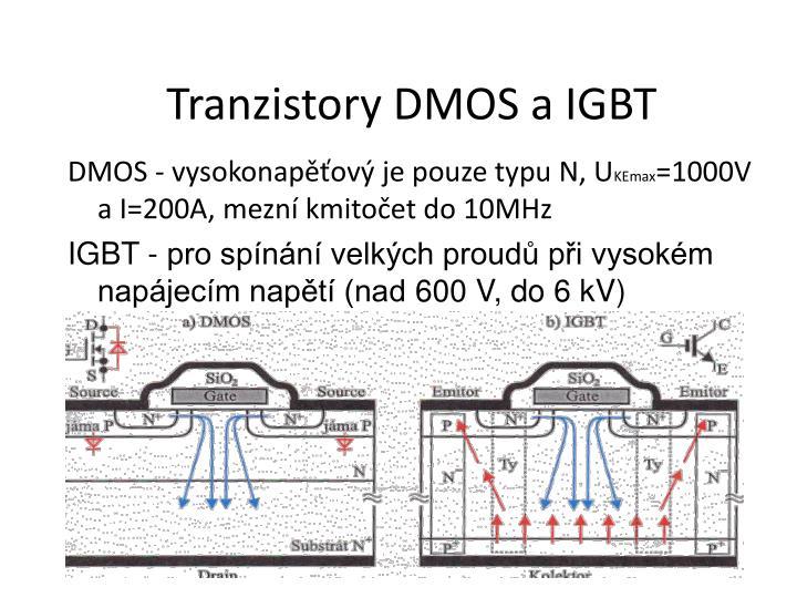 Tranzistory DMOS a IGBT