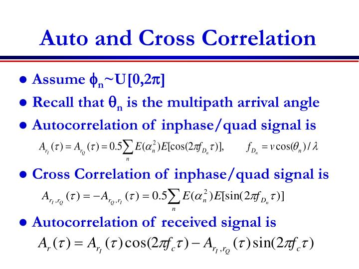 lecture 9 autocorrelation If = 0, the dw = 2, ie no autocorrelation of ar(1) the standard errors are not biased and t-statistics are fine if = -1, the dw = 4, ie negative autocorrelation.
