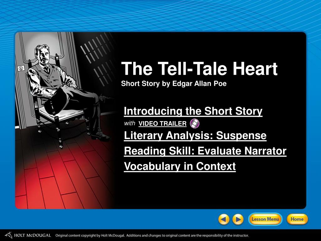 who wrote the tell tale heart