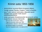 krimin sota 1853 1856