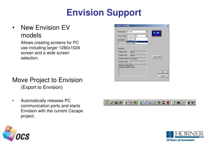 Envision Support
