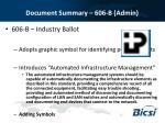 document summary 606 b admin1