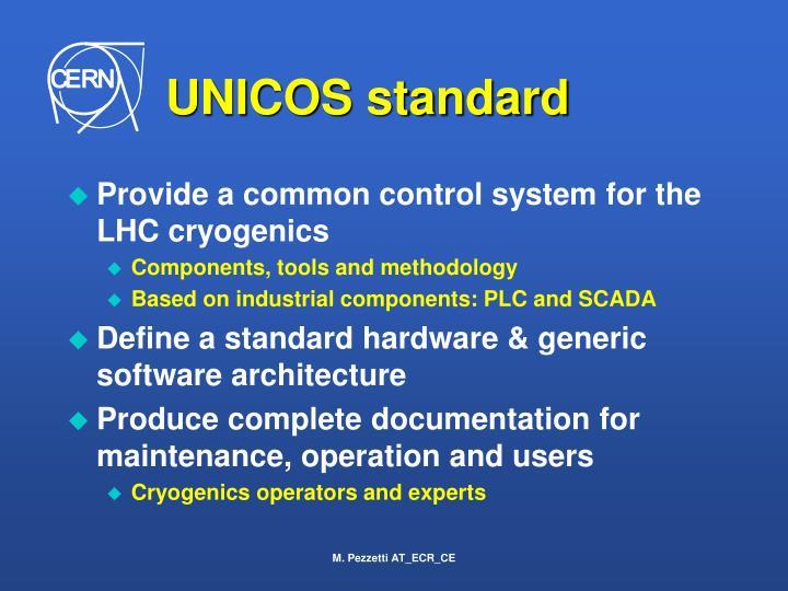UNICOS standard