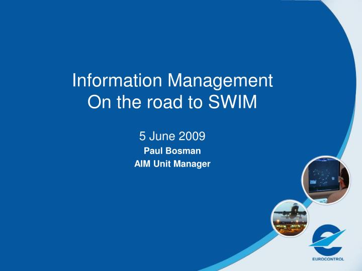the road to health information management