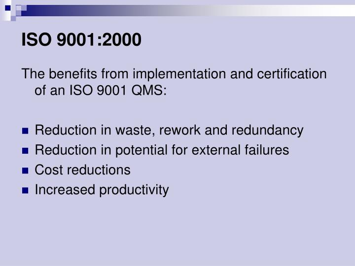 ISO 9001:2000