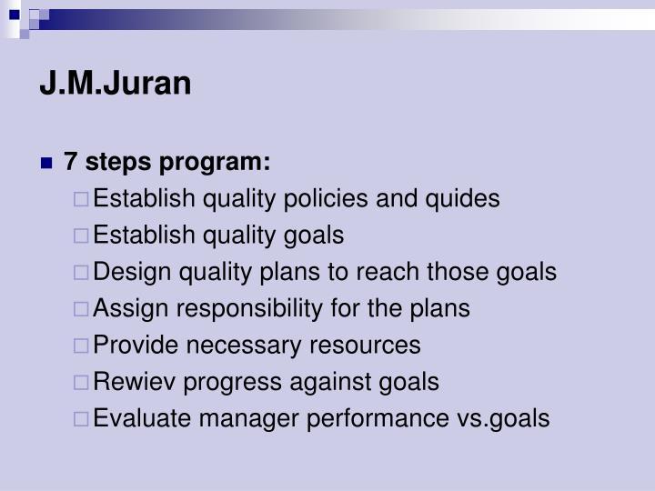J.M.Juran