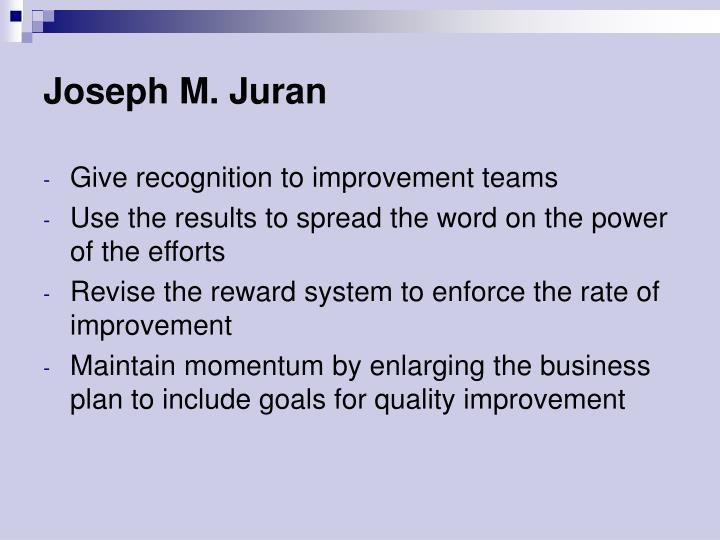 Joseph M. Juran