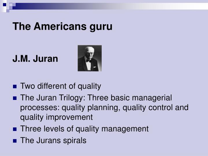The Americans guru