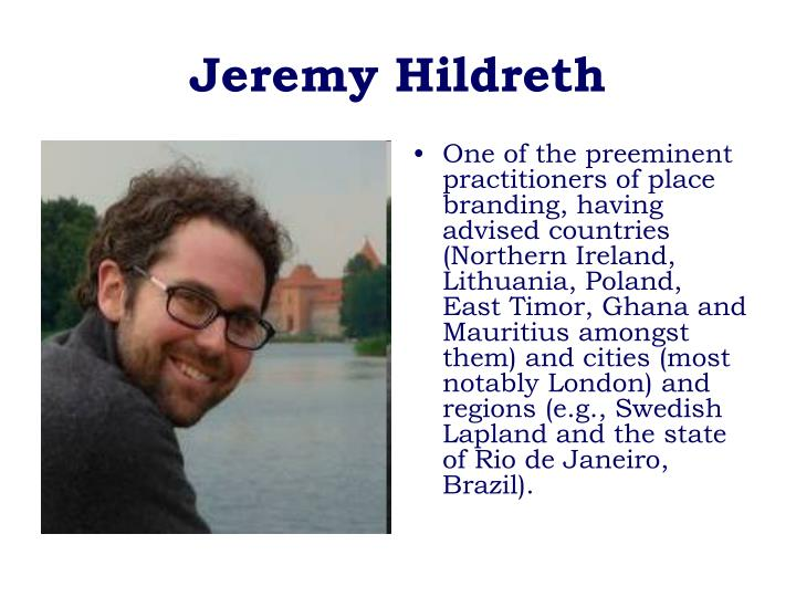Jeremy Hildreth