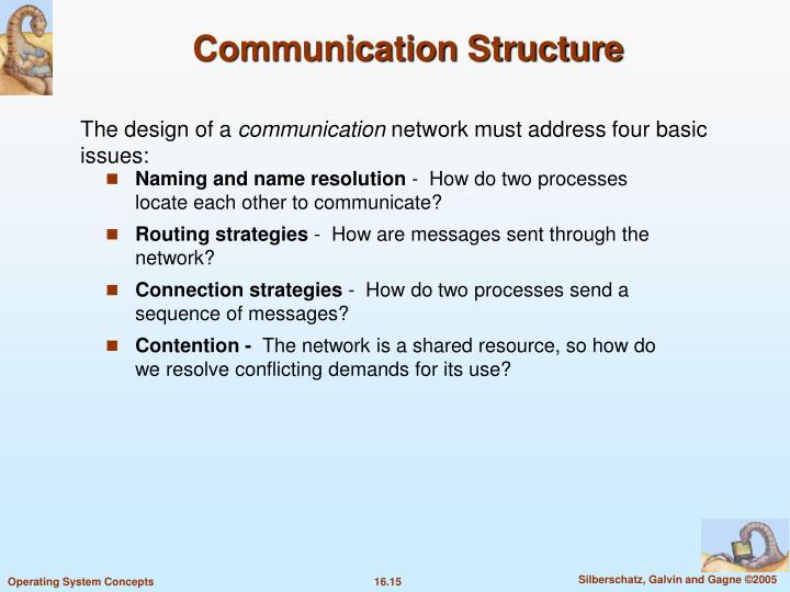 Communication Structure