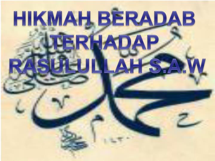 HIKMAH BERADAB