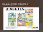 gejala gejala diabetes