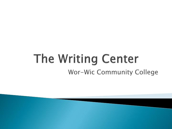 community writing center The writing center is a free student support center created to assist writers with reviewing, refreshing and upgrading their writing skills.