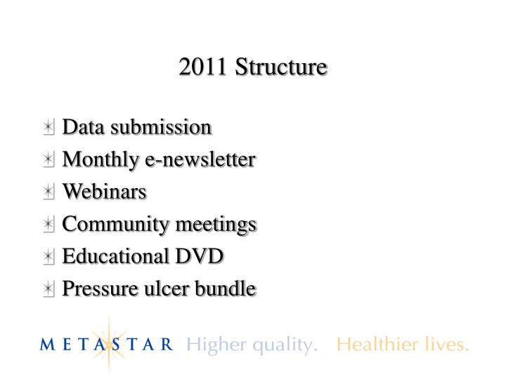 2011 Structure