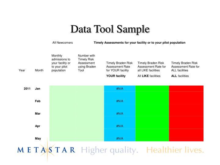 Data Tool Sample