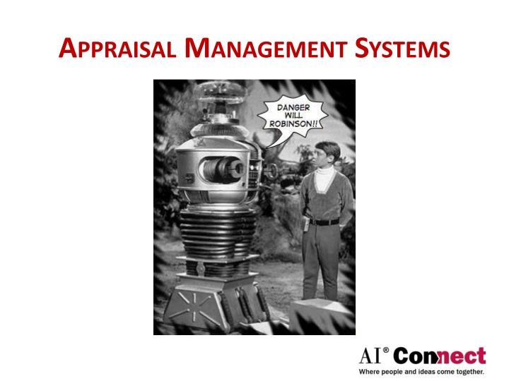 Appraisal Management Systems