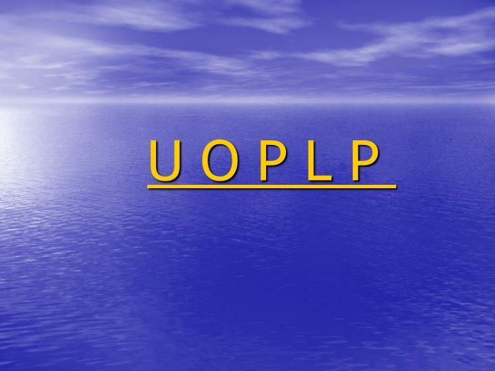 U O P L P