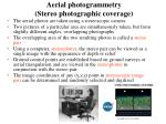 aerial photogrammetry stereo photographic coverage1