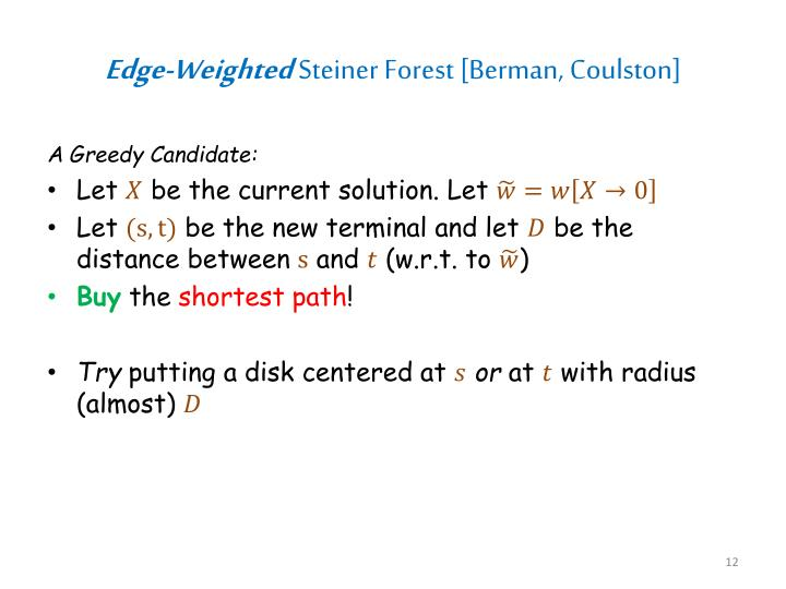 Edge-Weighted