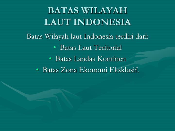 BATAS WILAYAH