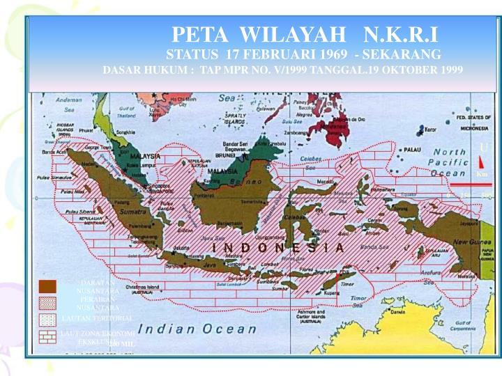 PETA  WILAYAH   N.K.R.I