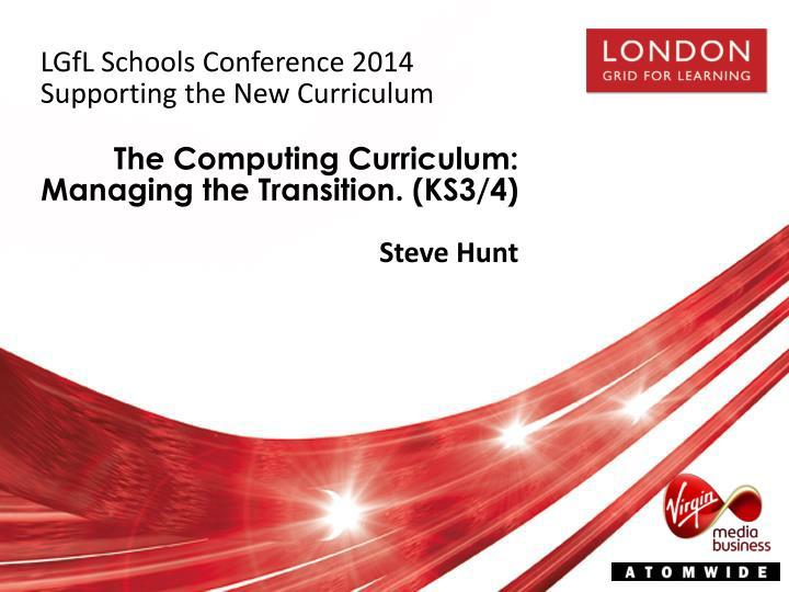 LGfL Schools Conference