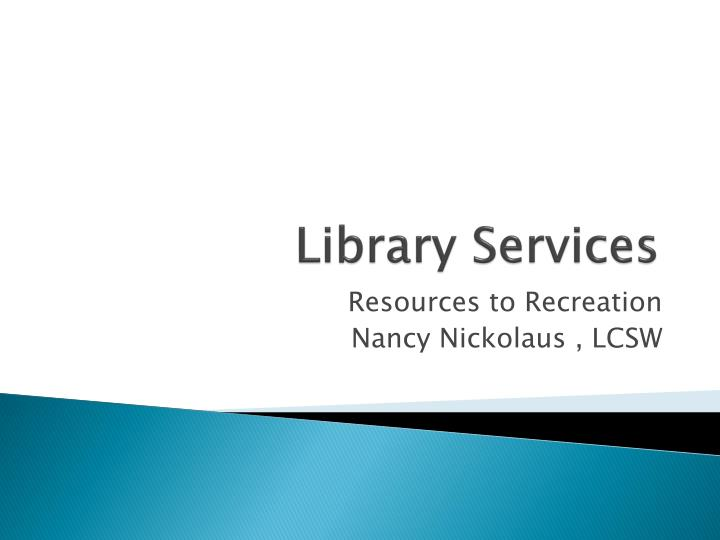 library services n.