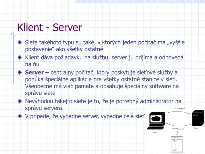 Klient server