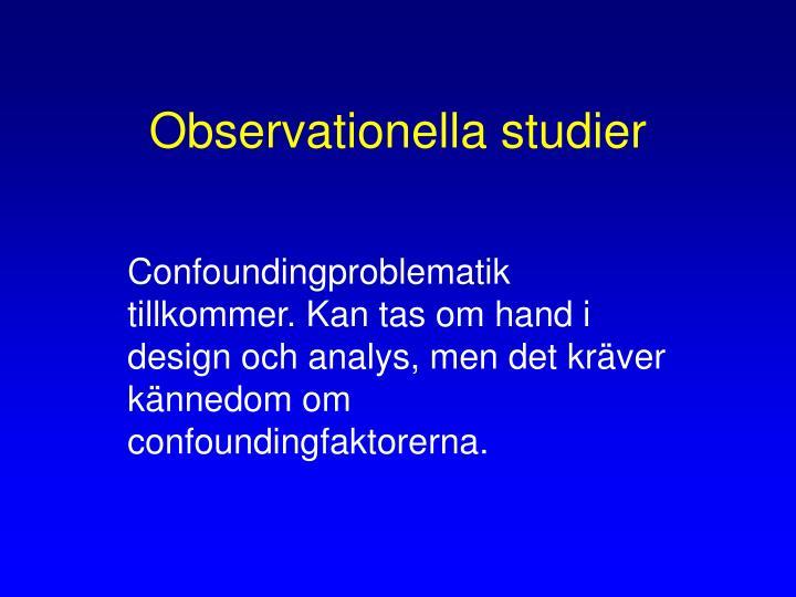 Observationella studier