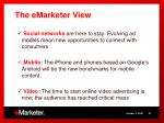 the emarketer view