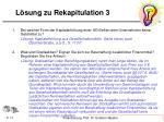 l sung zu rekapitulation 3