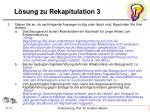 l sung zu rekapitulation 31