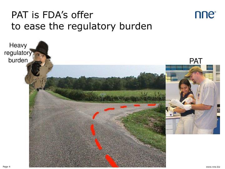 PAT is FDA's offer