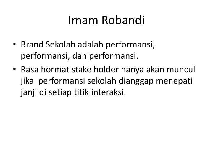 Imam Robandi
