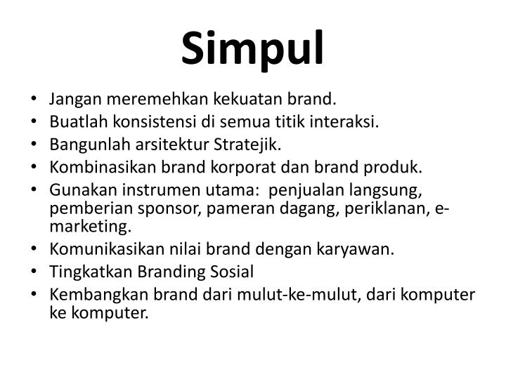 Simpul