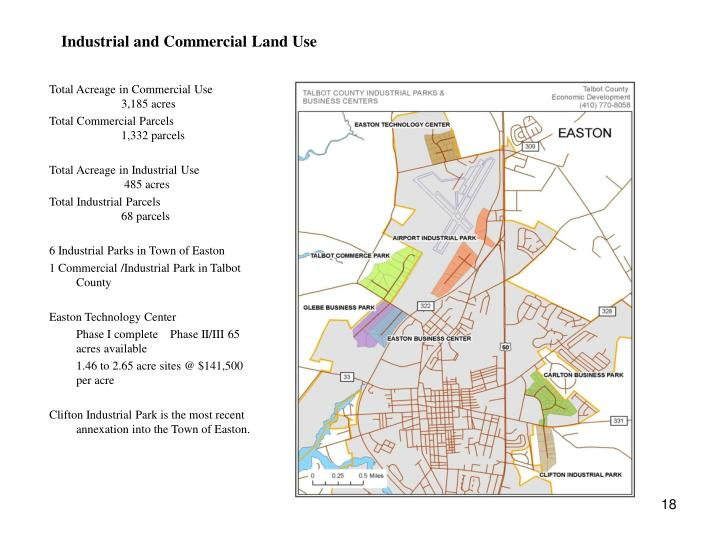 Industrial and Commercial Land Use