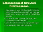 2 benzoksazol t revleri klorzoksazon