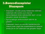 3 benzodiazepinler diazepam