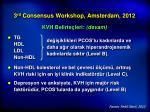 3 rd consensus workshop amsterdam 20126