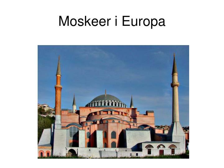 Moskeer i Europa