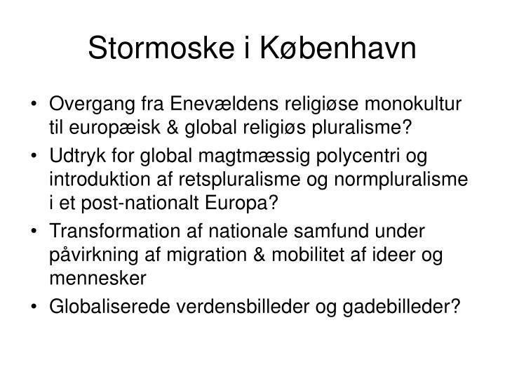 Stormoske i København