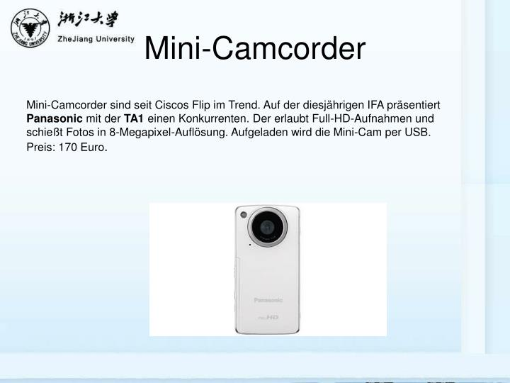 Mini-Camcorder
