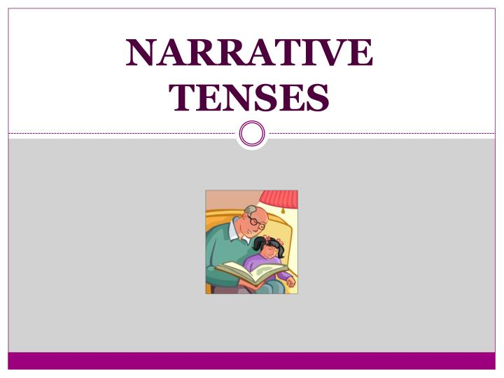 narrative tenses This lesson describes how the past simple, past continuous and past perfect interact in a narrative if you look carefully, you'll see that there are two notable absentees from this discussion.