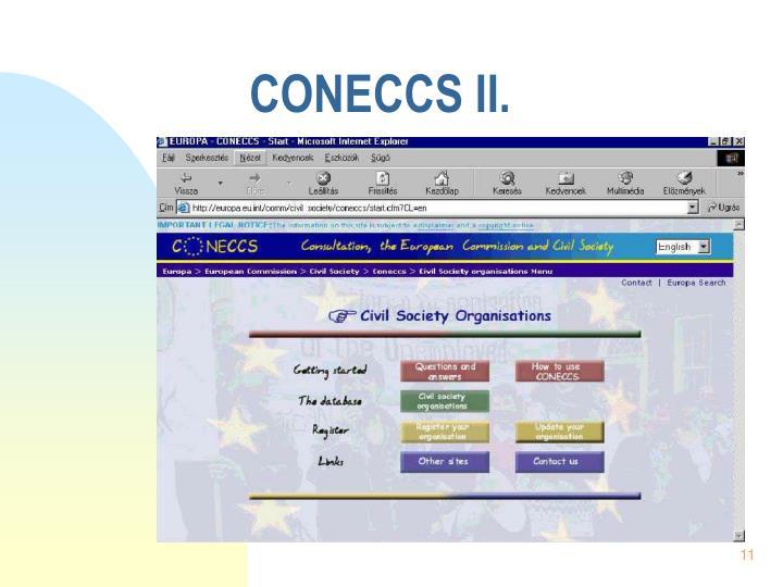 CONECCS II.